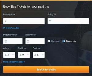 busbud on caftop travel