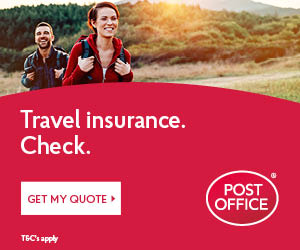 post office travel insurance on caftop travel